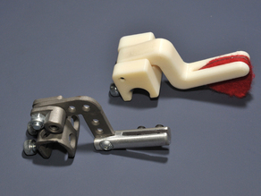 Cello prosthetic pluck assist