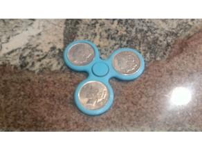 Silver Dollar Spinner