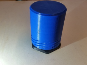 Twist Container-large Lid, hoher Deckel