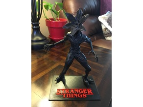 Display Base Stand for the Stranger Things Demogorgon by kspmoure