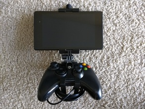 Modular Mounting System Tablet Clamp (extended 40mm) with Tab