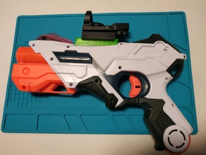 Nerf Laser Ops Alphapoint Picatinny rail mount