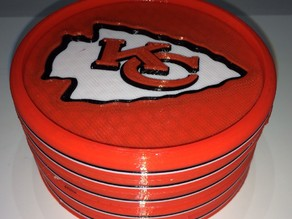 Kansas City Chiefs Coaster