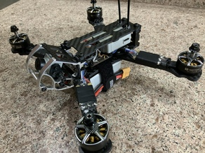 Mods to use DJI digital FPV air unit with Rooster Quad frame