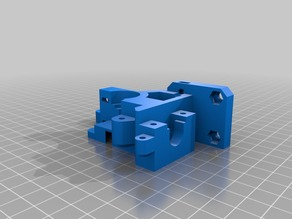 Prusa I3 Rework BODY-EXTRUDEUR-WADE-1.75mm for E3D-V6