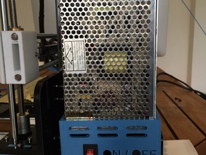Anet A8, Omni m505, Zonestar p802m Power supply cover