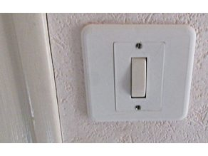 Basic Light switch cover