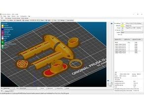 Power / Motor Pod for DLG Gliders, Libelle