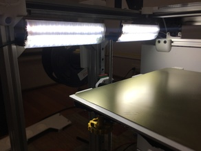 Print Head Level LED Mount for BLV mgn Cube