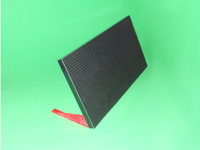 P4.75-1R1G-16S Led Matrix Stand