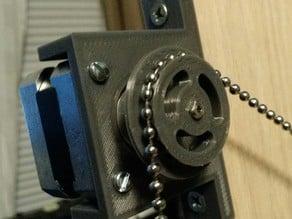 Nema 17 3.5mm Ball Chain Sprocket
