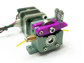 Compact Bowden Extruder (Geared Motor Version) for 1.75 filament
