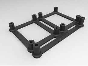 Anet A6 & A8 Dual Back Facing Mosfet Holder