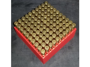 556 100-round case with lid
