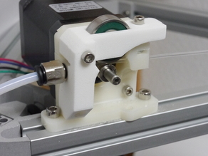 Compact Bowden Extruder, direct drive 1.75mm remixed