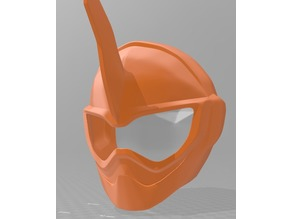 Kamen rider exaid-ghost helmet