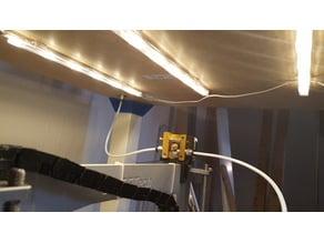 Ikea Lack filament guide for bowden