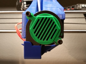 Wanhao Duplicator  i3 front blower fan mount and shroud