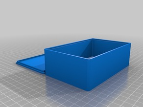 My Customized box with snap on cover - parametrised OpenSCAD