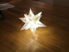 LED Christmas Star 5-edged