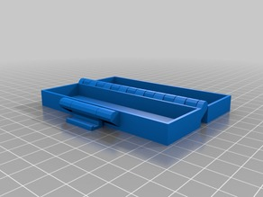 gum Buckle Box, Printable In One Piece