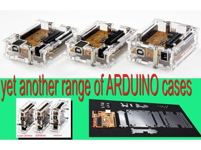 yet another range of ARDUINO cases by Folker