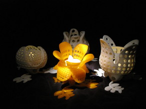 "the noon flower - a fourth object of "" rotating flowers - a small lights collection """