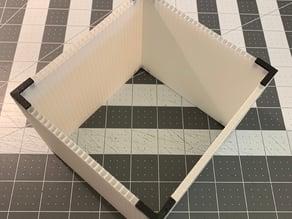 Corrugated Plastic Brackets