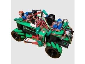Mecanum Raspberry Pi Robot
