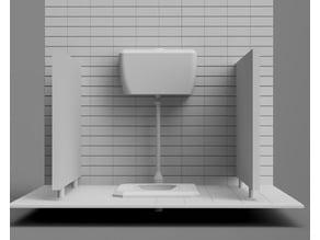 Toilet Diorama
