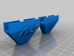 Anet A8 T-corners with logo