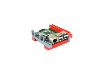 Lego Raspberry Pi adapter