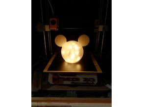 lampe Mickey (oreille plate)