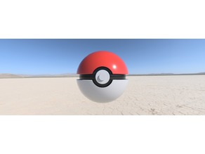 Pokeball accessory(with little holes)