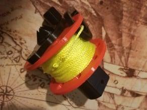 Scuba Diving Reel - with handle/crank
