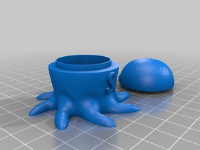 fairy tail octopus candy holder