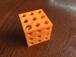 3D Hidden Maze (3x3x3 or 4x4x4)