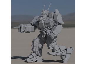 WVR-6R Wolverine for Battletech
