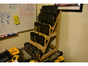 DeWalt and Porter-Cable 20V Battery Storage Feet