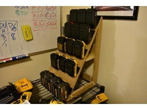 DeWalt and Porter-Cable 20V Battery Storage Feet