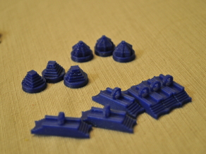 Aztec Player Set - Settlers of Catan