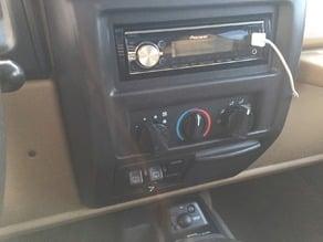 Jeep Climate Control Knob