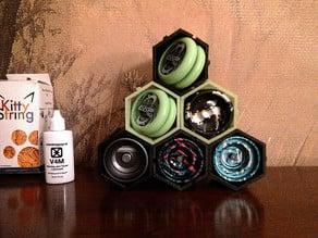 Yobox - Modular Hive shelf for yoyos or other small items