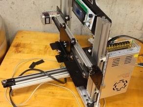 Z Upright Power Supply Mount for Makerslide