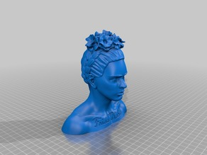 Frida Kahlo Bust