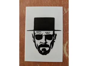 Multicolor Heisenberg print for single extruder printers