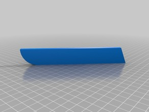 My Customized Parametric Kitchen Knife Sheath (Remix)