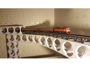 Bit By Bit - H0 railroad building blocks