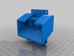 ZMR 250 EKEN H9 Cam-mount  with RX Antenna-mount 25 degree