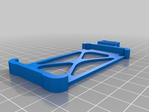 Martian II FPV Drone Battery Tray and Extended Battery Tray